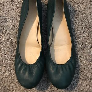 J Crew CeCe leather ballet flats